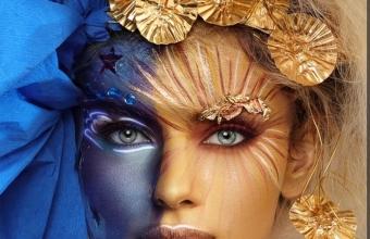 Mirela  Vescan make-up academy  Make-up by Adriana Hoșbotă