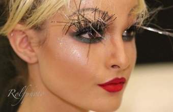 Fashion make-up backstage