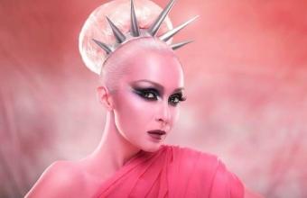 Liberty Statue  in pink by Ciprian Strugariu